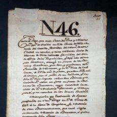 Manuscritos antiguos: SEVILLA,1669. CARTA DE PAGO. TOMAS DE VILLA LABOS, MILITAR SANTO OFICIO INQUISICION. 2 SELLOS. LEER. Lote 210640823