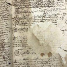 Manuscritos antiguos: 1687. REAL PROVISIÓN ACTUACIÓN ESCRIBANOS PÚBLICOS ESCRIBANOS REALES DE LORCA Y TOTANA.. Lote 210971199