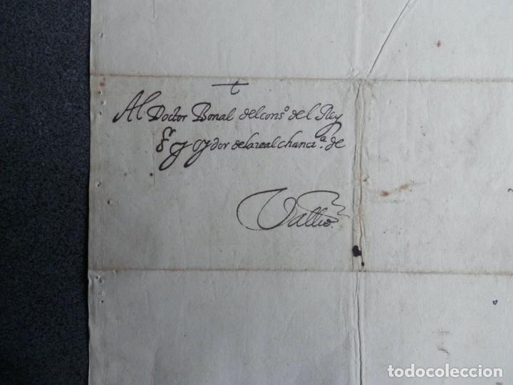 Manuscritos antiguos: IMPORTANTE CARTA AL REY FELIPE II AÑO 1588 NOMBRAMIENTO VIRREY DE ARAGÓN A UN EXTRANJERO - OPOSICIÓN - Foto 2 - 211439567