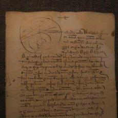 Manuscritos antiguos: VENTA DE DOS CASAS * TOLEDO 1535 * 16 PÁGINAS EN PAPEL. Lote 211726326