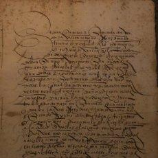 Manuscritos antiguos: VENTA DE PEDAZO DE VIÑA * GRANADA 1548 * PAPEL * 8 PÁGINAS. Lote 211726630
