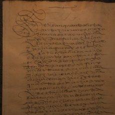 Manuscritos antiguos: VENTA DE VIÑA * GRANADA 1593 * 12 PÁGINAS. Lote 211727345
