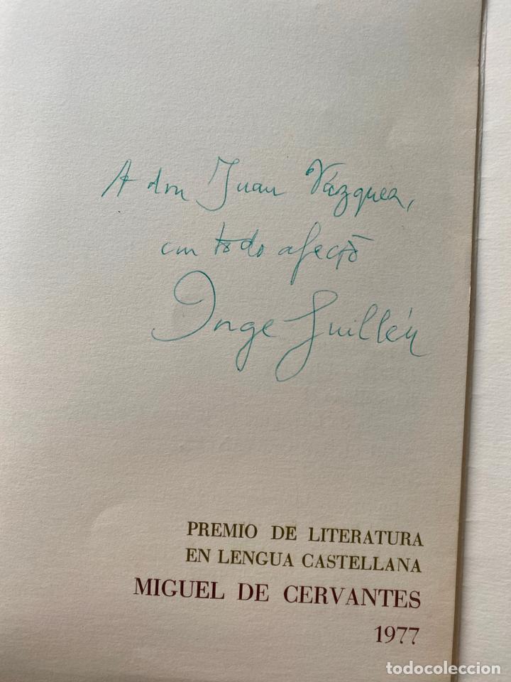 Manuscritos antiguos: lote de cartas , etc . de d. jorge guillen relacionados con malaga , generación del 27 , poesía - Foto 6 - 211747325