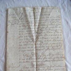 Manuscritos antiguos: JML PRECIOSO DOCUMENTO MANUSCRITO 10 PÁG APORTACION AL SACRISTAN SORBAS ALMERIA 1578 HASTA 1785. Lote 211852035