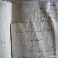 Manuscritos antiguos: JML LOTE MANUSCRITOS INVENTARIO Y CARTA NOMBRANDO DUQUE BERWICH Y DE ALBA 1872 SORBAS ALMERIA VER. Lote 211880776