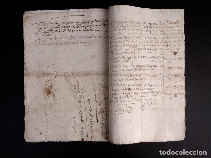 ECIJA 1598. VENTA DE OLIVARES (Coleccionismo - Documentos - Manuscritos)