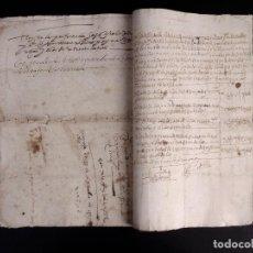 Manuscritos antiguos: ECIJA 1598. VENTA DE OLIVARES. Lote 212598008
