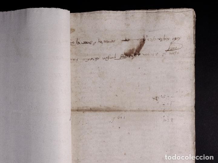 Manuscritos antiguos: ECIJA 1598. VENTA DE OLIVARES - Foto 3 - 212598008