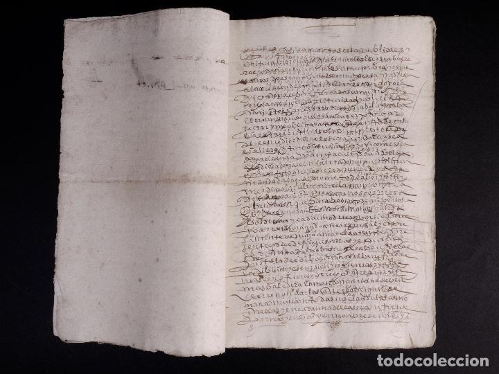 Manuscritos antiguos: ECIJA 1598. VENTA DE OLIVARES - Foto 4 - 212598008