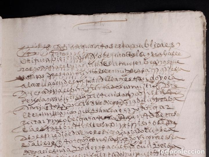 Manuscritos antiguos: ECIJA 1598. VENTA DE OLIVARES - Foto 5 - 212598008