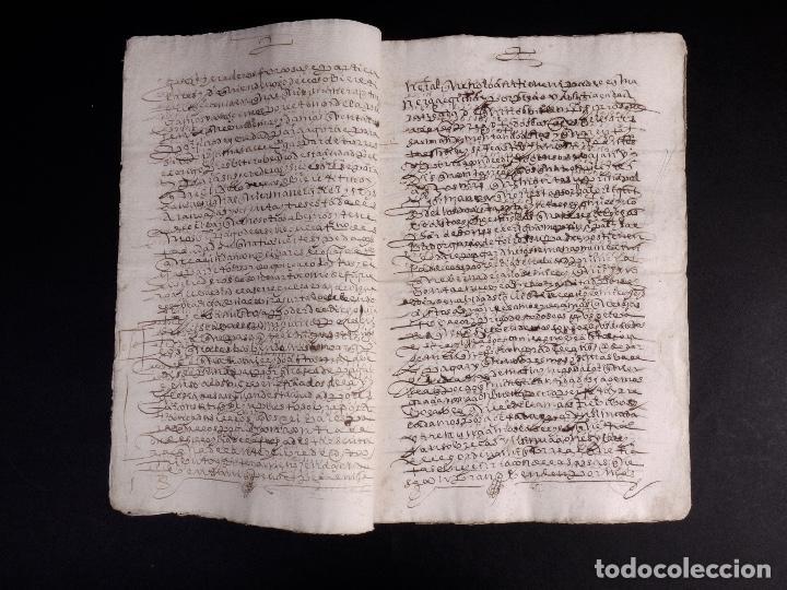 Manuscritos antiguos: ECIJA 1598. VENTA DE OLIVARES - Foto 6 - 212598008