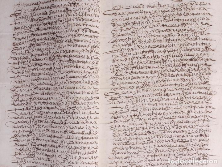 Manuscritos antiguos: ECIJA 1598. VENTA DE OLIVARES - Foto 7 - 212598008