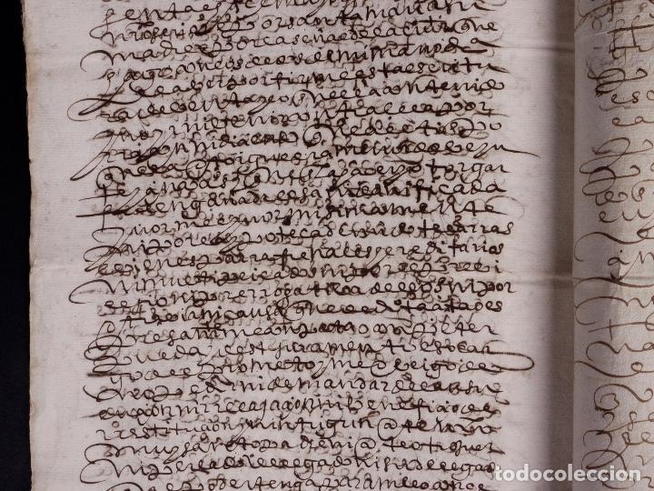 Manuscritos antiguos: ECIJA 1598. VENTA DE OLIVARES - Foto 8 - 212598008