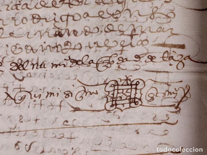 Manuscritos antiguos: ECIJA 1598. VENTA DE OLIVARES - Foto 10 - 212598008
