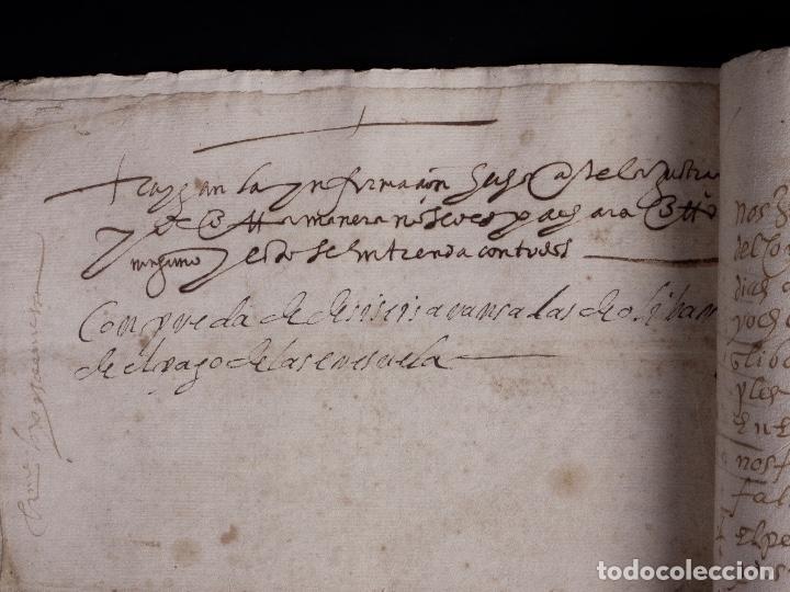 Manuscritos antiguos: ECIJA 1598. VENTA DE OLIVARES - Foto 11 - 212598008