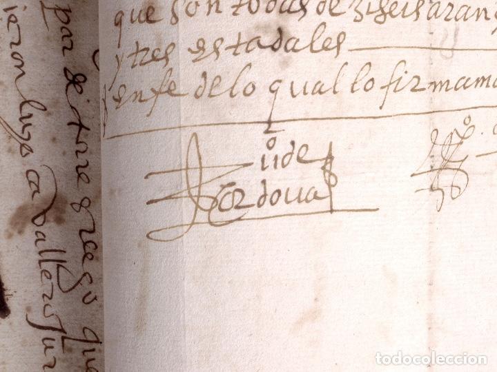 Manuscritos antiguos: ECIJA 1598. VENTA DE OLIVARES - Foto 14 - 212598008