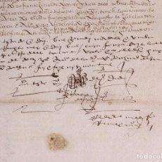 Manuscritos antiguos: FUENTE GUINALDO 1583. VENTA DE UNA TIERRA, LA VEREDA.. Lote 212598652