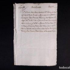 Manuscritos antiguos: FUENTE GUINALDO 1630. VENTA DE UNAS CASAS CON SU CORRAL Y POSESIONES. Lote 212598942