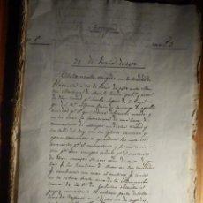 Manuscritos antiguos: LEGAJO - TORREJON - JUNIO AÑO 1467, PLASENCIA, CÁCERES, TESTAMENTO CONSTRUCCIÓN CONVENTO LAS CLARAS. Lote 212769797
