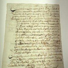 Manuscritos antiguos: MANUSCRITO PARTIDA BAUTISMO MARIA JOSEPHA SEBERIANA THERESA XAVIERA - MADRID - 1759 - ORIGINAL- D007. Lote 215282210