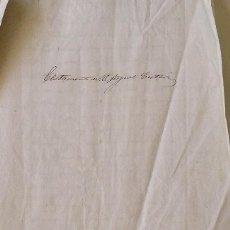 Manuscritos antiguos: TESTAMENTO MIGUEL CISTARÉ. 1862. PLANAS Y CASTELLS. IGUALADA. BARCELONA. 6 PÁGINAS. 32X22 CM.. Lote 215533637