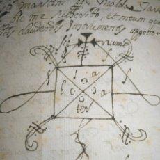 Manuscritos antiguos: CERTIFICADO MANUSCRITO DEL VALOR DE CASA / VIVIENDA DE ST MARTÍ DE MALDA SIGLO XVII 1698. Lote 215936742