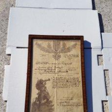 Manuscrits anciens: PRIMERA GUERRA MUNDIAL ENTREGUERRAS ORDEN CITACION DE 1918. Lote 216618773
