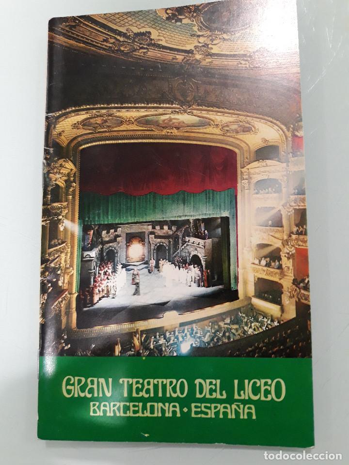 Manuscritos antiguos: PROGRAMA OPERA CON FIRMA ORIGINAL DE MARIANA NICOLESCO - Foto 6 - 216780906