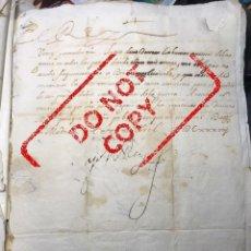 Manuscritos antiguos: CARTA REAL DEL REY FELIPE IV. GUERRA FRANCO-ESPAÑOLA. ABRIL 1638. Lote 217240152