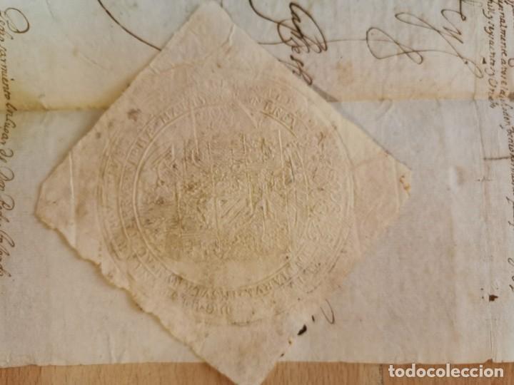 Manuscritos antiguos: 1601, NOMBRAMIENTO GOBERNADOR DE ISLA MARGARITA, FIRMA DE FELIPE III, VER IMAGENES, ESPECTACULAR - Foto 4 - 217723118