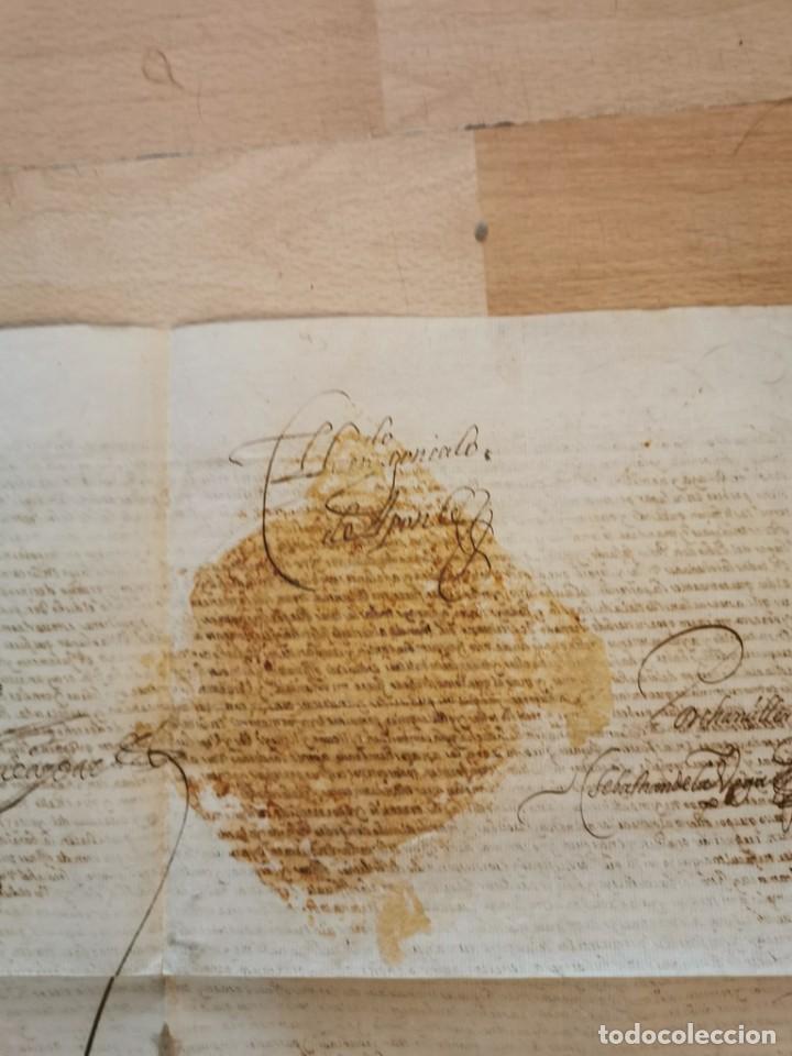 Manuscritos antiguos: 1601, NOMBRAMIENTO GOBERNADOR DE ISLA MARGARITA, FIRMA DE FELIPE III, VER IMAGENES, ESPECTACULAR - Foto 7 - 217723118