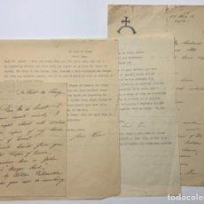 Manuscritos antiguos: ANAIS NIN. CUATRO CARTAS.. Lote 218524732