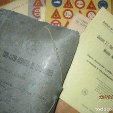 Manuscritos antiguos: GRAN LOTE DE CARTAS MANUSCRITAS ALICANTE UNIDAD AUTOMOVILES DIVISION 31 MILITAR VALENCIA. Lote 218551542