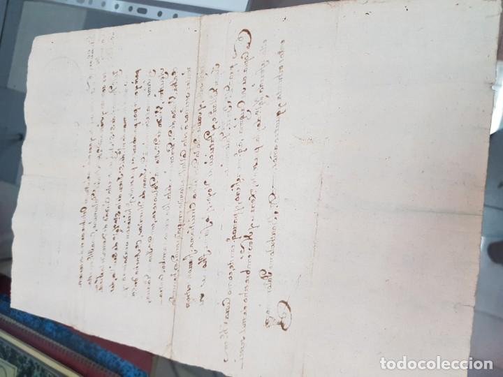 Manuscritos antiguos: ANTIGUO DOCUMENTO MANUSCRITO CERTIFICADO MATRIMONIO JEREZ DE LA FRONTERA CADIZ S. XVIII 1784 - Foto 2 - 218963057
