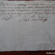 Manoscritti antichi: RECIBO DE UN JUBÓN DE LUTO, 1650. Lote 219727756
