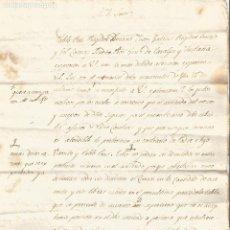 Manuscritos antiguos: QUERALPS I FUSTANYÀ PLEIT ARRENDAMENTS 1821. Lote 219881700