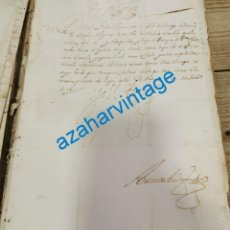 Manuscritos antiguos: 1615, CARTA DE FELIPE III A A SU MAESTRE DE CAMPO DEL TERCIO DE NAPOLES, FIRMA REAL. Lote 220345948
