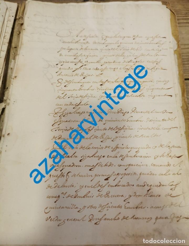 1619, ORDEN DE DESEMBARCO DE NAVIOS, FIRMA PEDRO COLOMA, SECRETARIO DE ESTADO ITALIA FELIPE III (Coleccionismo - Documentos - Manuscritos)