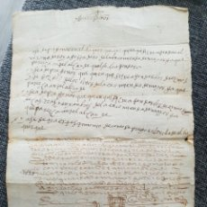 Manuscritos antiguos: ANTIGUO MANUSCRITO. EN LATIN?. Lote 221462932