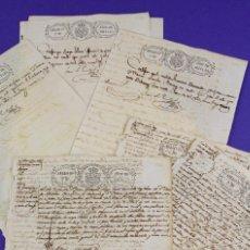 Manuscritos antiguos: ESCLAVISMO. COMPRA VENTA DE ESCLAVOS - CUBA, AÑO 1844-45. LOTE DE VARIOS DOCUMENTOS, VER.. Lote 221556678