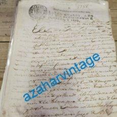Manuscritos antiguos: 1786, MANUSCRITO SOBRE PERSONAS ENVICIADAS EN EL JUEGO DE NAIPES, 3 PAGINAS. Lote 221954871