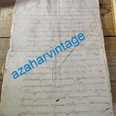 Manuscritos antiguos: 1634, FIRMA DE FELIPE IV, PERDON REAL DELITOS COMETIDOS POR EL CAPITAN GENERAL DE LA ISLA DE CUBA. Lote 221994917
