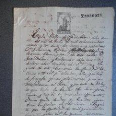 Manuscritos antiguos: 4 MANUSCRITOS AÑO 1872 CORCUBIÓN A CORUÑA PLEITO PRESTAMO Y DEUDAS. Lote 222180471