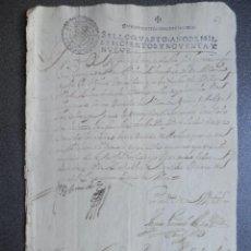 Manuscritos antiguos: MANUSCRITO AÑO 1699 FISCALES POBRES - RARO Y LUJO - RONDA MÁLAGA ACTUACIÓN ALGUACIL. Lote 222715673