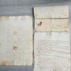 Manuscritos antiguos: LOTE DE MANUSCRITOS. DIFERENTES TEMAS. FECHADOS. Lote 223074133