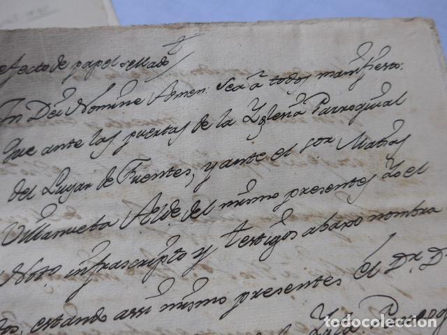 Manuscritos antiguos: * Lote 3 antiguos documentos a estudiar identificar, seguramente de catalunya. ZX - Foto 7 - 224578957