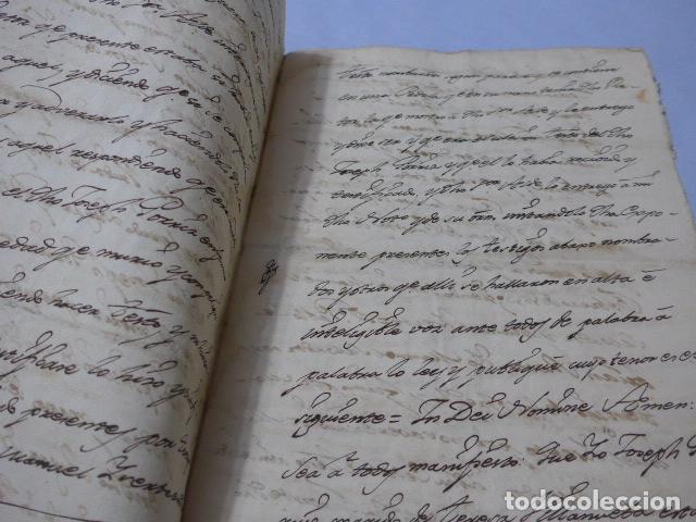 Manuscritos antiguos: * Lote 3 antiguos documentos a estudiar identificar, seguramente de catalunya. ZX - Foto 8 - 224578957