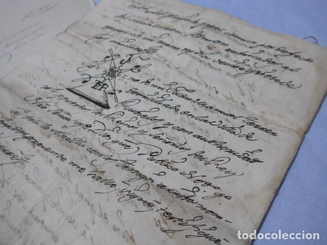 Manuscritos antiguos: * Lote 3 antiguos documentos a estudiar identificar, seguramente de catalunya. ZX - Foto 9 - 224578957