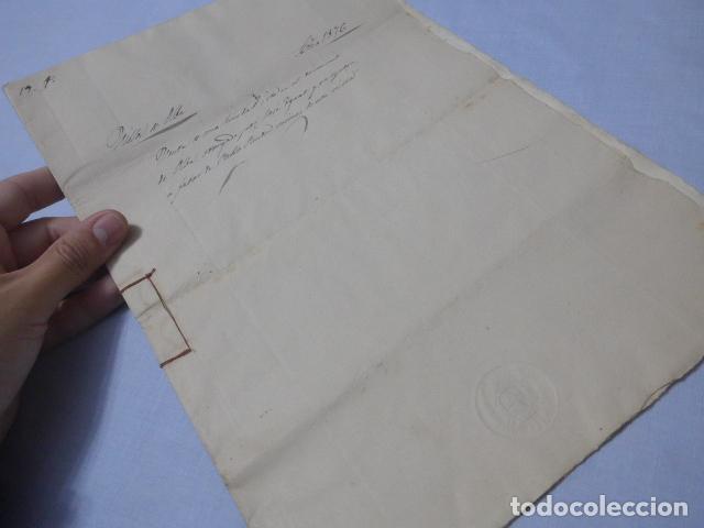 Manuscritos antiguos: * Lote 3 antiguos documentos a estudiar identificar, seguramente de catalunya. ZX - Foto 10 - 224578957