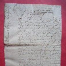 Manuscritos antiguos: LUCAS DE MIRANDA.-TOMAS HOGACEN.-CONSEJO DE LA MESTA.-MANUSCRITO.-FELIPE V.-AGREDA.-SORIA.-1725.. Lote 239728345